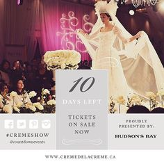 awesome Vancouver wedding We cannot wait to share with you the epitome of luxury and elegance! Only 10 days until the showcase! Join us on November 8th for #cremeshow. Hosted by @fsvancouver and Presented by @hudsonsbay Gown from @cacheatelier Hair and Makeup by @katieelwood Photo by @tamizphoto #bridalstyle #countdownevents #weddingplanner #yvrevents by @countdownevents  #vancouverwedding #vancouverweddingdress #vancouverweddingmakeup #vancouverwedding