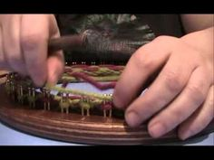 M tutorial gorro en espiral bicolor reversible con telar maya circular - YouTube