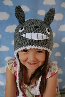 Totoro winter hat- just for Emily!