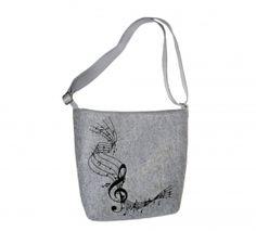 Dámská kabelka přes rameno Mozart MarkModern Reusable Tote Bags, Design
