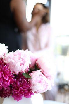 Peonies flower arran