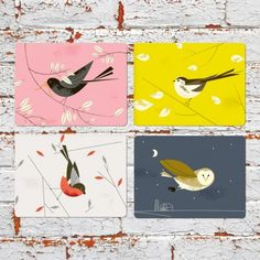 BIRDY II - SET OF 4 PLACEMATS