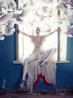 Elena Vizerskaya [Елка Визерская] - Kassandra, is wonderful talented Russian photographer specialized in photo manipulating.