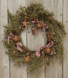 Holidays Decoration Ideas - Christmas Evergreen Wreaths