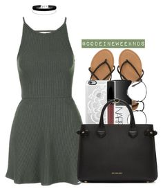 """7/4/16"" by codeineweeknds ❤ liked on Polyvore featuring Billabong, Topshop, Casetify, NARS Cosmetics, Miss Selfridge, Ray-Ban and Burberry"