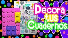 Decora Tus Cuadernos 2 IDEAS//Regreso a Clases