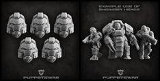 Another helmet variant in our assortment: https://puppetswar.eu/product.php?id_product=770
