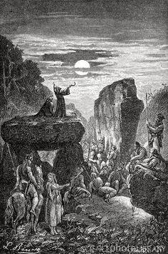 Druid Symbols, Celtic Mythology, Spirit Magic, Celtic Druids, Sacred Groves, Traditional Witchcraft, Great Works Of Art, Celtic Culture, Celtic Art