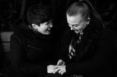 That just been proposed to feeling! 🖤 Can't believe it was almost a month ago since we skulked around the zoo waiting for that precious…