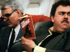 John Candy and Steve Martin in Planes, Trains and Automobiles.