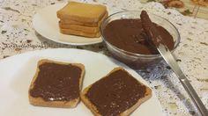 La mia Nutella finta ...molto simile al Philadelphia Milka! ;) (80 calorie)