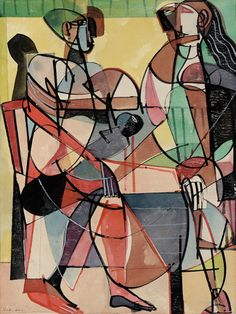 The Family (1948) / by Romare Bearden