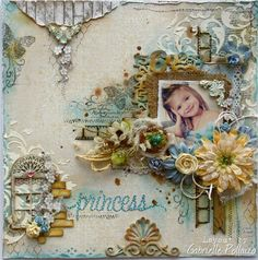 Gabriellep's Gallery: Princess **Maja Design & Dusty Attic**