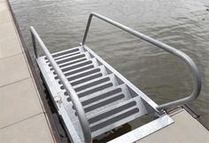 Unique Dock Steps provide portability combined with very easy most convenient , access to the water to swimmers, divers and people of all ages and sizes include kids ,even the dogs, but they can be used for so much more.