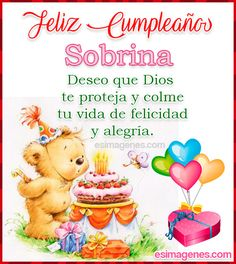 Spanish Birthday Wishes, Happy Birthday Clip Art, Birthday Clips, Happy Birthday Pictures, Happy Birthday Messages, Birthday Thank You, Happy Mother Day Quotes, Happy B Day, Happy Mothers