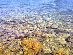 Sea colours of La Bionda beach, Porto S. Stefano, #maremma, #tuscany, #italy