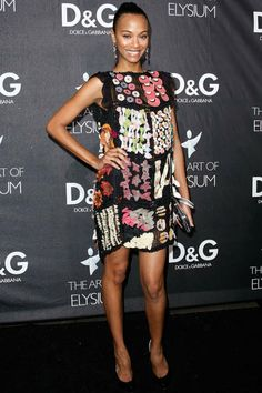 Best-ever Zoe Saldana red carpet style
