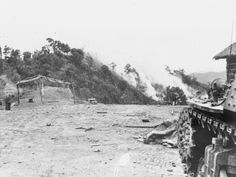 the view from a Japanese position at Kohima. Source: Wiki/ public domain.
