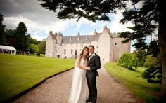 Luxury Scottish Weddings: Drum Castle