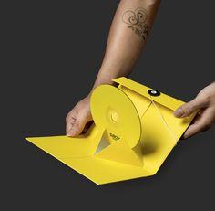Gbox Studios DVD Packaging in Clever Packaging & Craft