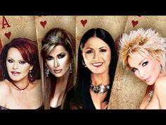 POKER DE CORAZONES Marisela, Ana Gabriel, Dulce, Rocio Durcal Sus Mejores Canciones - YouTube
