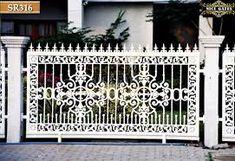 mẫu hàng rào sắt cao cấp Steel Art, Outdoor Structures, Nice