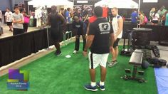RockusFitness Crew @ SweatUSA Watch RyFit demonstrate his fitness abilities! Biceps, Glutes, Squats, Calves, Abs, Workout Fitness, Stretching, Health, Watch