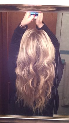 how to get loose waves with a wand