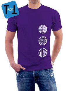 3 Dieux Du Bonheur FU LU SHOU- T-shirt • Les trois étoiles • 福星 • 禄星 • 寿星 • Étoile du Bonheur,Étoile de la Prospérité,Étoile de la Longévité de la boutique teeFORtea sur Etsy
