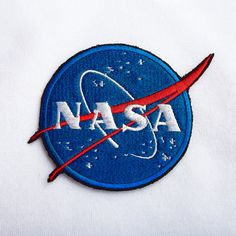 NASA patch Jacket patch NASA embroidery patch NASA Embroidered