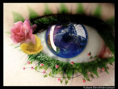 The eye of Mother Nature