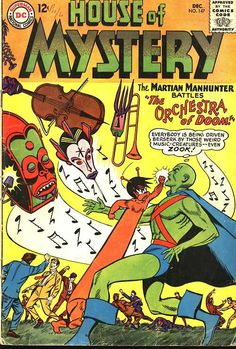 House Of Mystery #147, december 1964, cover by Joe Certa.