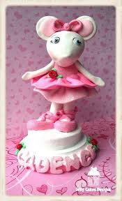 Angelina ballerina cake topper by Jelly Cakes Ballerina Cakes, Ballerina Party, 5th Birthday Cake, 6th Birthday Parties, Cupcake Cookies, Cupcake Toppers, Cupcakes, Angelina Ballerina, Fondant Animals