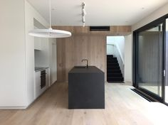 Final clean at ready for handover tomorrow. Well done for finishing 6 weeks early! Modern Kitchen Design, Modern Interior Design, Interior Design Inspiration, Apartment Interior, Kitchen Interior, Floor Design, House Design, Black Kitchens, Kitchen Layout