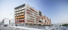 Completed in 2015 in Montpellier, France. Images by Adrià Goula. The new parking is located in the heart of Montpellier, in the ZAC New Saint-Roch including the plans for the extension of the city center. The...