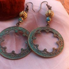 Bohemian Gypsy Style Scalloped EdgeLight by TheBohemianGypsy, $24.00