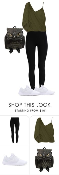 """""""Studio"""" by francymayoli ❤ liked on Polyvore featuring Haute Hippie and NIKE"""