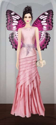 Covet Fashion Game-Challenge-Butterfly
