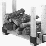 Seymour Steel Stack-It Brackets Set Log Carrier, Firewood Logs, Fireplace Logs, Fireplace Accessories, Tubular Steel, Crafts, Spaces, Mom, Reading