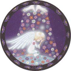 Ronde des Anges - Tirage gratuit de cartes d'anges Triquetra, Auras, Zen, Daisy, Meditation, Bedroom Decor, Point, Astrology, Free Art Prints