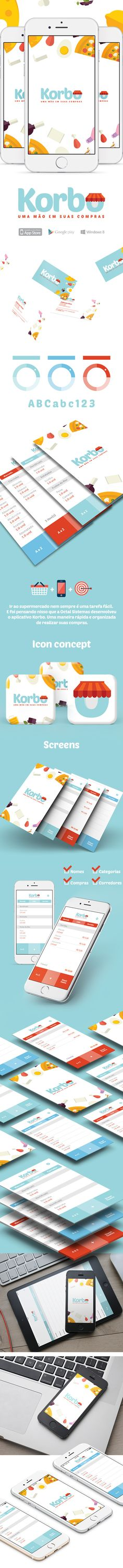 korbo app on Behance