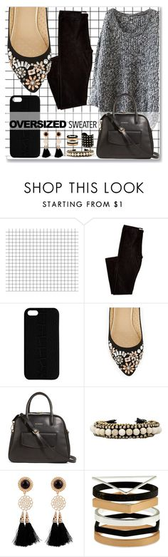 """""""• Oversized Sweater •"""" by astriddt ❤ liked on Polyvore featuring Maison Takuya, Oasis, Vera Bradley, Ettika, Accessorize, Michael Kors and oversizedsweater"""