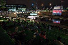 floating cinema: granary square