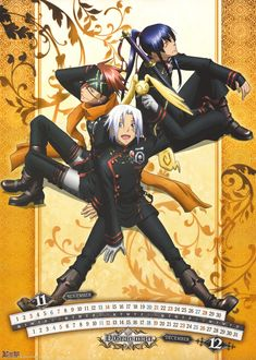 Oh God, this anime!!! Just like Pandora Hearts, the manga gets even better! Part of my top three!
