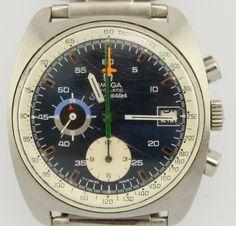 Vintage Omega Seamaster Jedi Chronograph 22J Cal 1040 Wrist Watch c1972