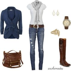 """Naturaly Casual"" by archimedes16 on Polyvore"