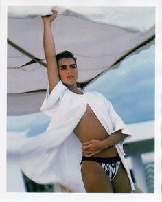 Brooke Shields by Bruce Weber for Life Magazine, 1983.
