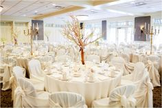 Edina Country Club Wedding Branches Crystals And Pearls