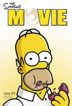 All Movie Posters and Prints for The Simpsons Movie | JoBlo Posters