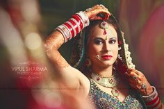 <3 As she's all ready for wedding & there is a mix of emotions; anxiety, nervousness & of course, joy. Portrait of a beautiful bride <3 #love#ready#wedding#beautiful#bridal#cute#makeup#pretty#style#jewellery#lehenga#suit#choora#bangles#indian#hindu#sikh#photography#top#class#wedding#amazing#work#photographer#smile#chandigarh#noida#delgi#jammu#himachal#kasmi